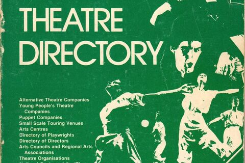 Front cover for British Alternative Theatre Directory