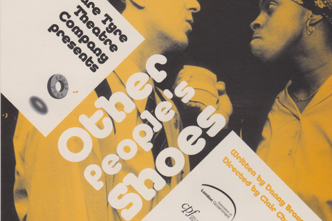 "Flyer for ""Other People's Shoes"""