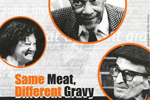 Same Meat, Different Gravy flyer