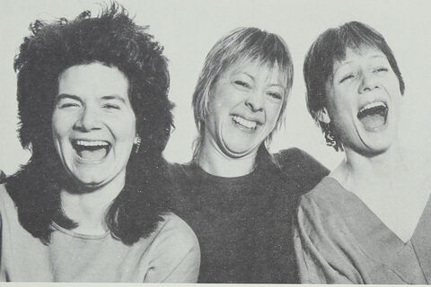 Photo of the original members of Spare Tyre