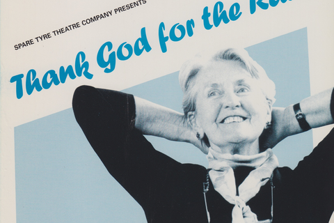 "Poster for ""Thank God for the Radio"""