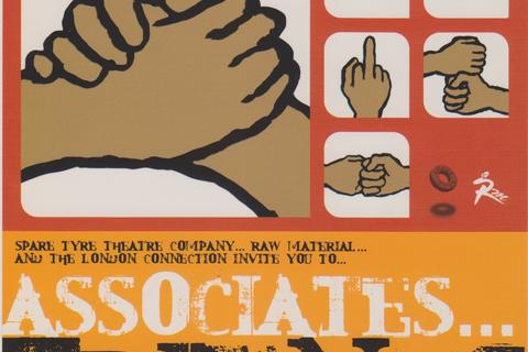 """Flyer for """"Associates... Friends"""""""