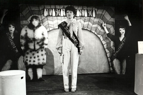 "Clair Chapwell in a performance of ""Baring the Weight"""