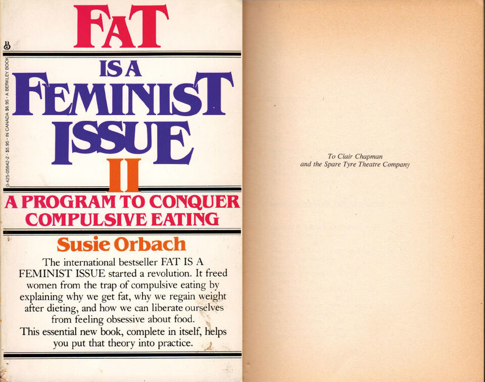 Fat Is A Feminist Issue book cover