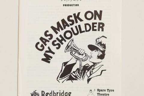 "Programme for ""Gas Mask on my Shoulder"""