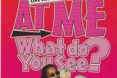 "Flyer for ""Look At Me What Do You See?"""
