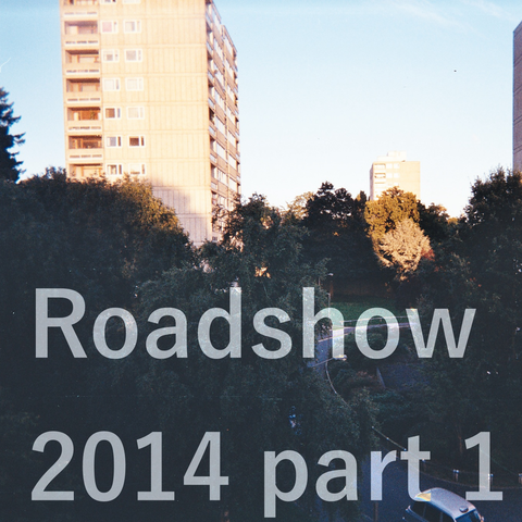 Promotional image for the first part of the Roehampton Radio Project roadshow