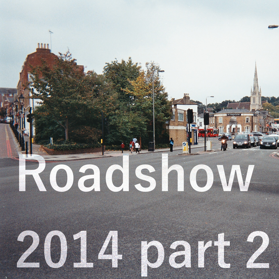 Promotional image for the second part of the Roehampton Radio Project roadshow