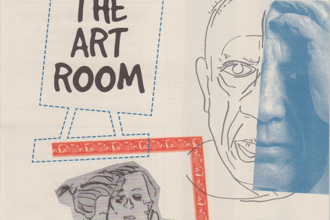 "Flyer for ""The Art Room"""